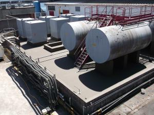 Etanchéité de depôt d'hydrocarbure