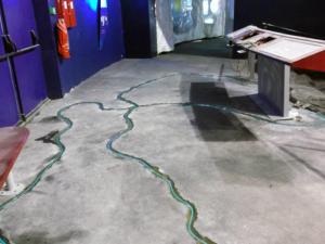 Scellement de fibre optique - Oceanopolis